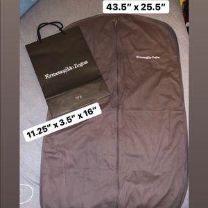 Ermenegildo Zegna Garment & Shopping Bag